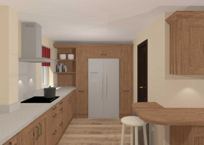 Natural Oak Kitchen & Utility Room