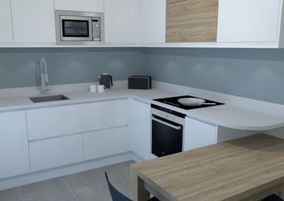 Compact but beautiful kitchen - Hampshire