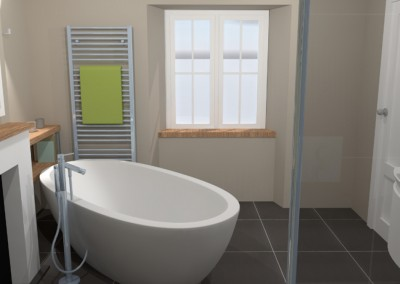 Family Bathroom - Cirencester