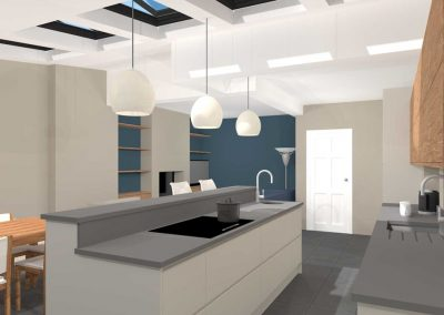 Harrow Contemporary Kitchen