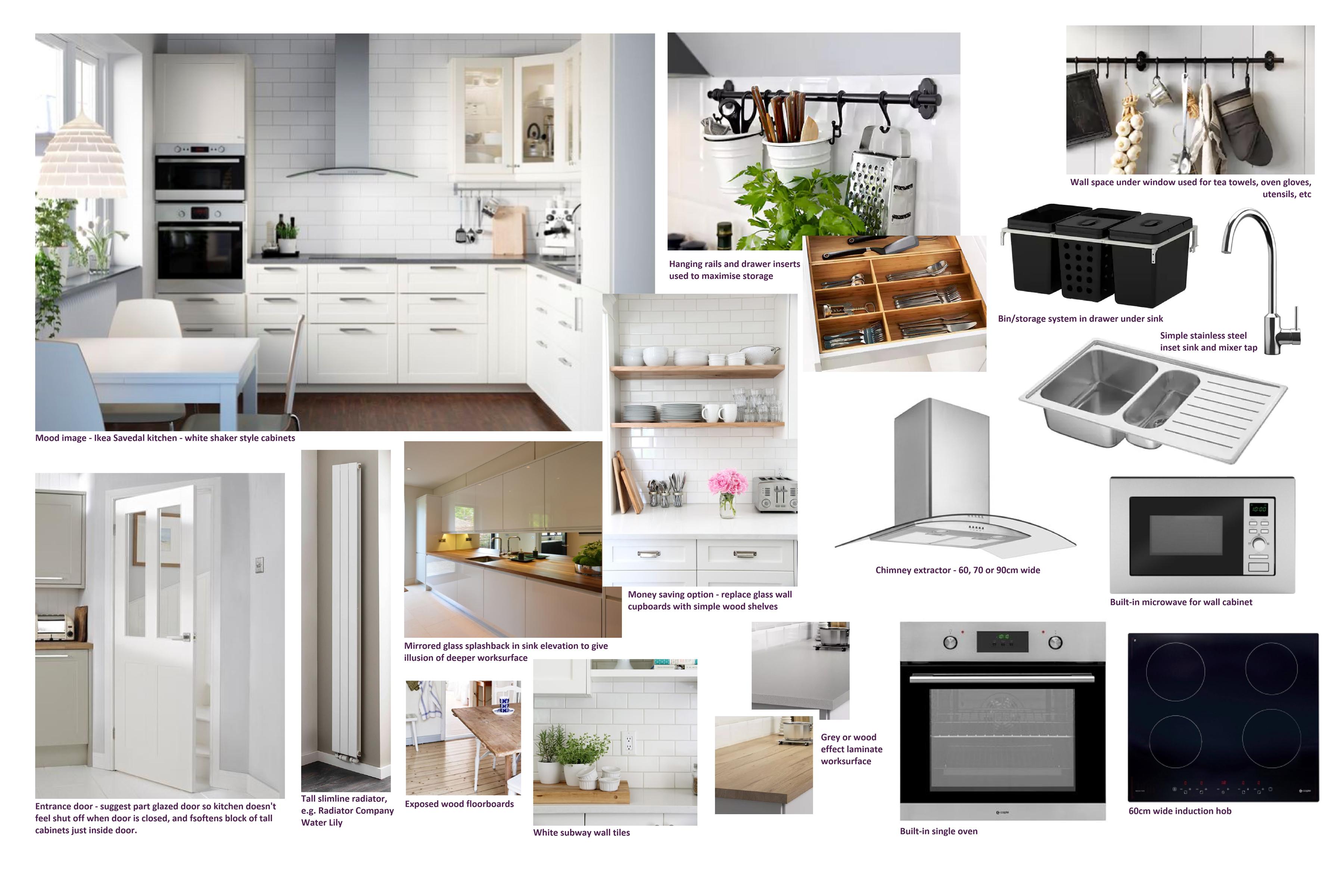Compact Ikea Kitchen | Caroline Dunn Design