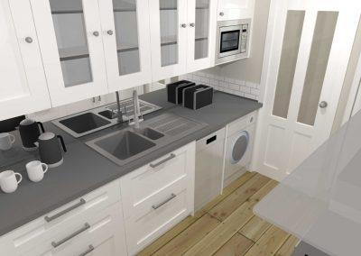 Compact Ikea Kitchen