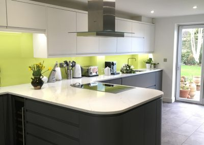 Cheltenham Grey and White Contemporary Kitchen