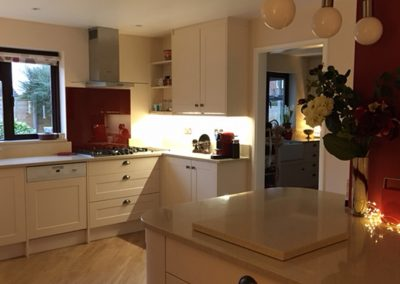 Completed Shaker Style Kitchen, Bredon