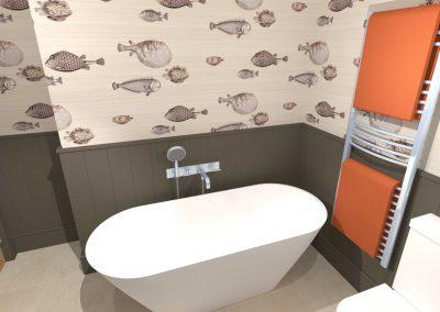 Somerset Cottage En-suite Bathroom
