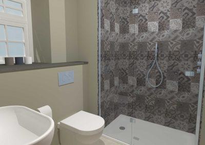 Somerset Cottage Shower Room
