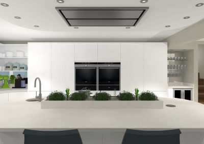 Yorkshire Contemporary Kitchen